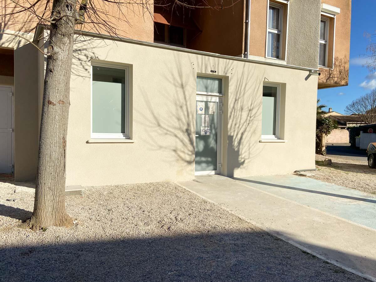 Rénovation cabinet médical à Aix-en-Provence - delgadofacades.fr