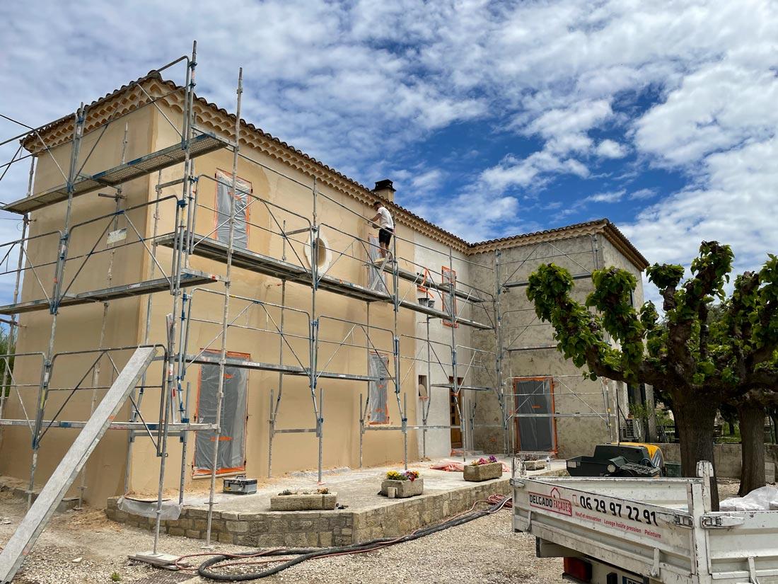 Rénovation mas à Aubignan